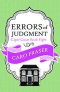 Caro Fraser - Errors of Judgment